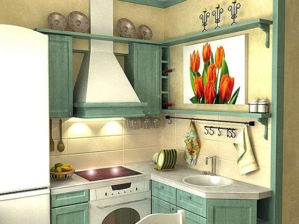 Нтерр маленьких кухонь