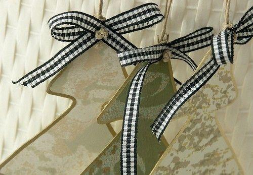Самодельные новогодние гирлянды из бумаги.