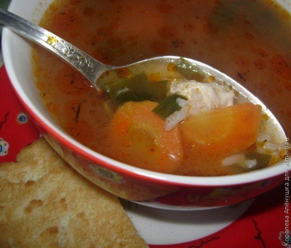 Суп-харчо из курицы
