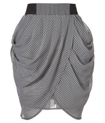 вот это юбка тюльпан...
