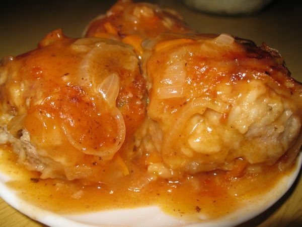 Мясные тефтели в томатном соусе