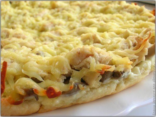 рецепт песочного теста для пирога с курицей и картошкой