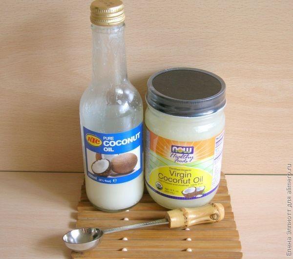 Кокосовое масло для лечения грибка ногтей