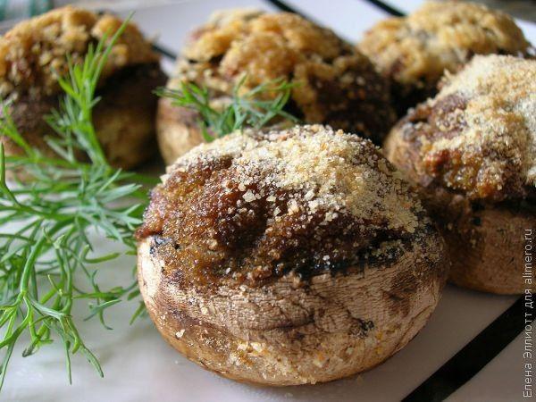 шампиньоны рецепты приготовления в духовке с картошкой