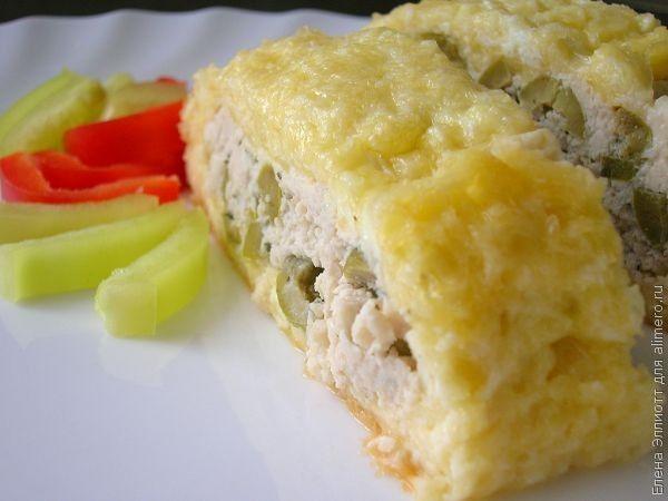блюда из сыра и фарша в духовке рецепт