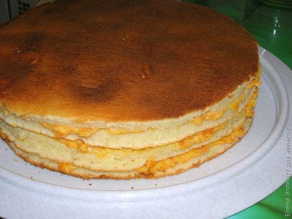 Торт манник рецепт с фото
