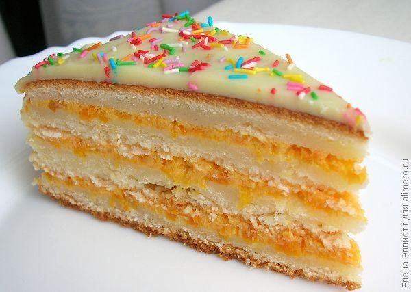 торт манник рецепт с фото на молоке