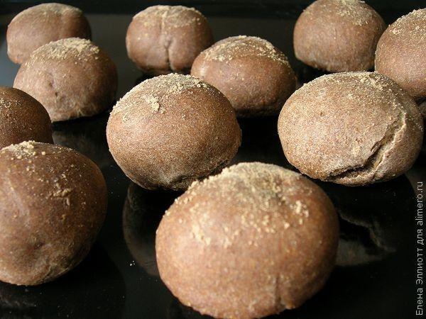 льняные мини-булочки