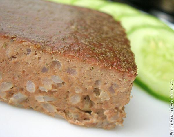 суфле из куриной печени в духовке рецепт