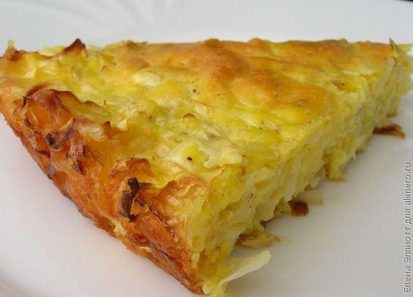 Капустный пирог для ленивых рецепт с майонезом