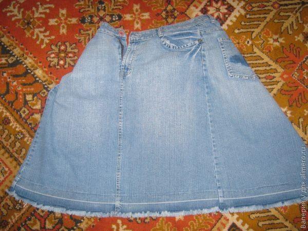 Пошив сумки из старых джинсов