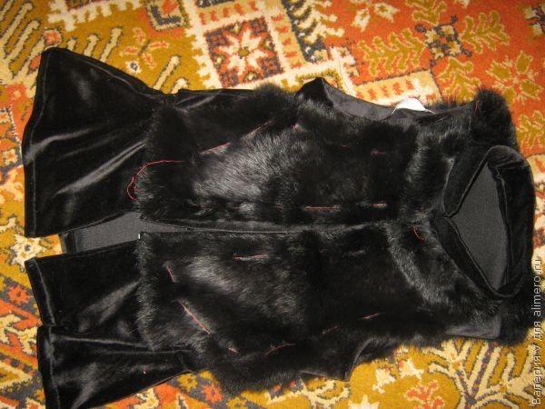 Как сшить жилетку меховую своими руками