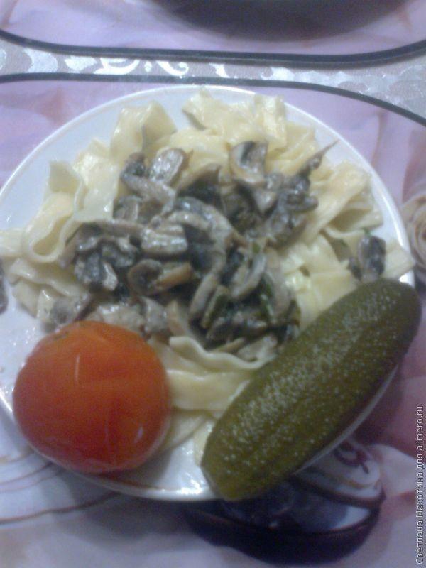 Лазанья с грибами и фаршем рецепт в домашних условиях 355
