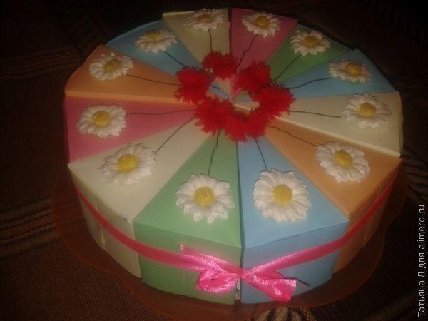 Необычный тортик подарок