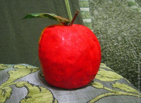 Как сделать большое яблоко 975