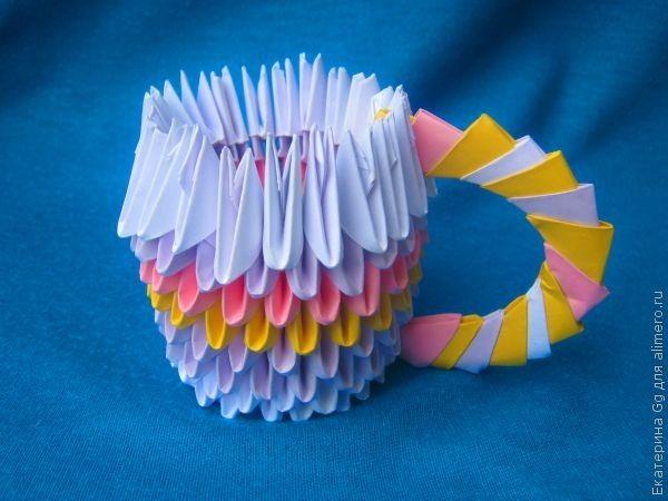 """Оригами 3D """"Чашка"""""""