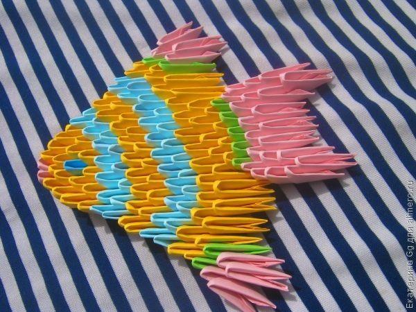 """Оригами """"Рыбка"""""""