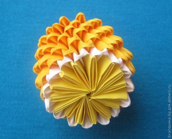 "Оригами ""Лимон"""
