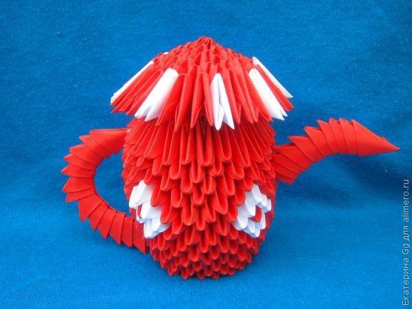 """Оригами """"Заварник"""""""