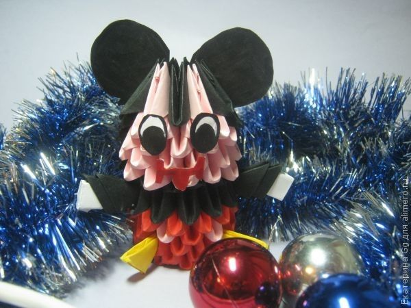 "Оригами ""Микки Маус"""