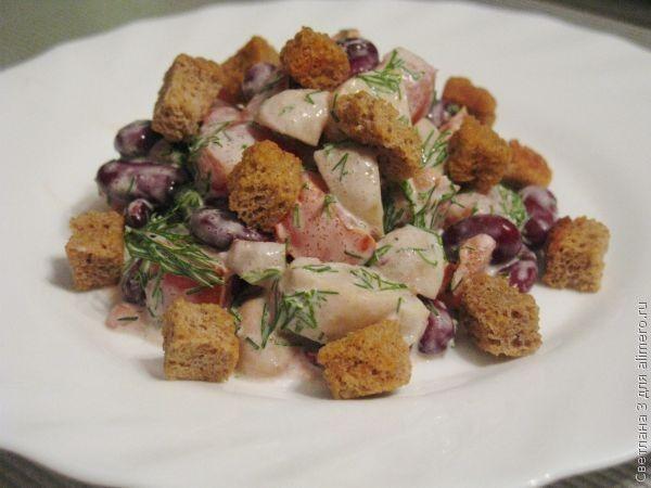 Рецепты с салат с фасоли 95