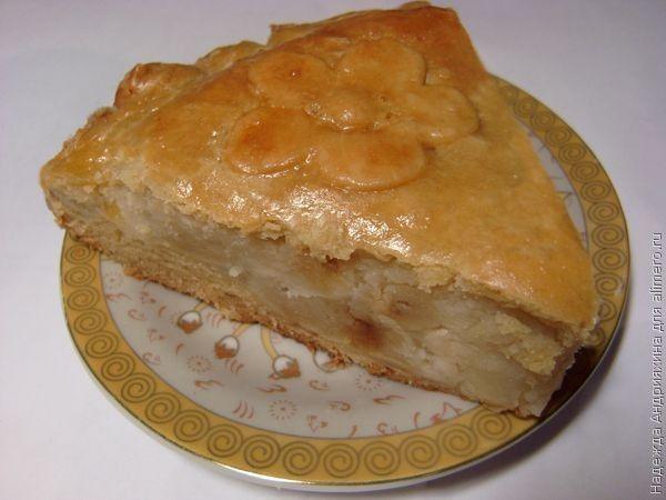 Слоеный пирог с сыром и картошкой рецепт 4