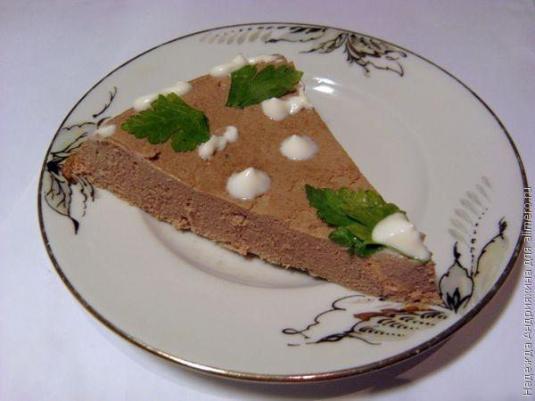 печеночный пирог из куриной печени рецепты с фото