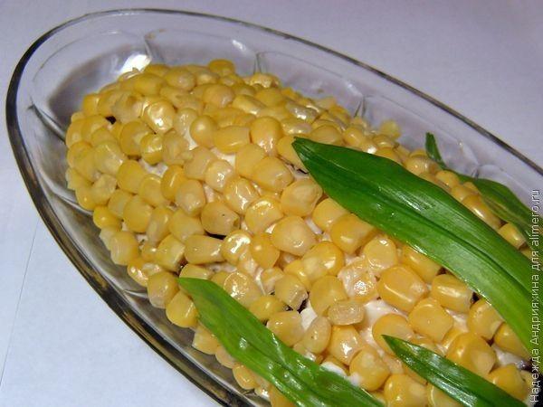 Салат в домашних условиях с кукурузой 621
