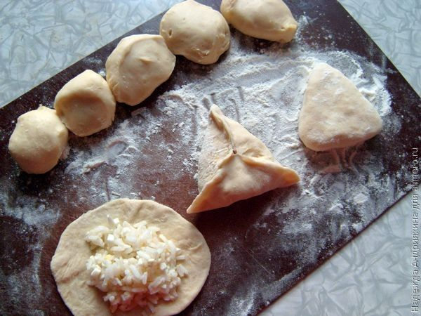 Пирожки из