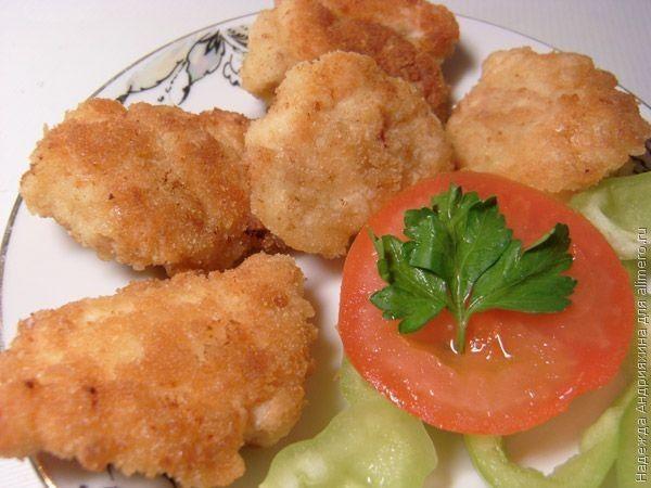 Наггетсы в духовке - пошаговый рецепт с фото: как приготовить 66