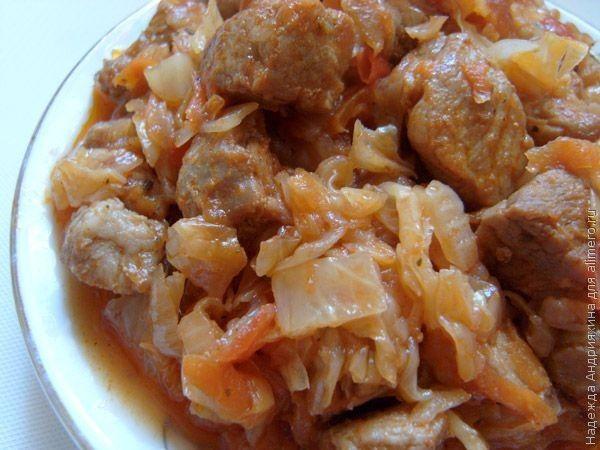 Солянка рецепт с капустой свежей пошагово — 3