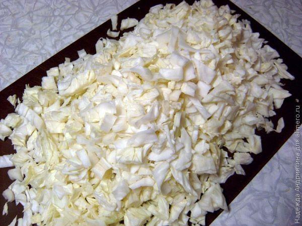 Солянка из свежей капусты