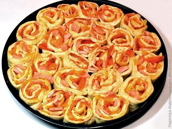 Ролл-пицца