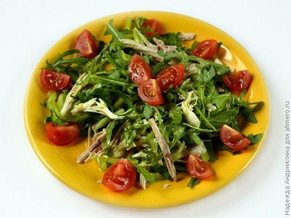 Салат с мягким сыром рецепт