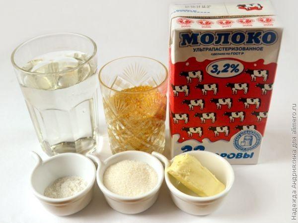 каша молочная кукурузная в мультиварке рецепты