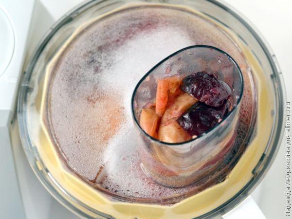 Мягкий яблочно-сливовый мармелад