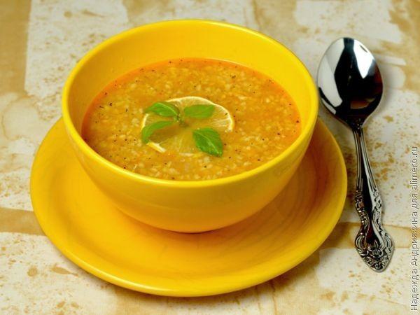 Турецкий суп из чечевицы и фарша #7