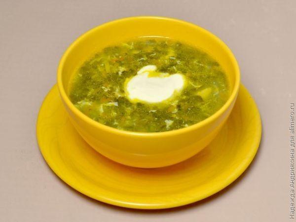 зеленые щи в мультиварке рецепты с фото