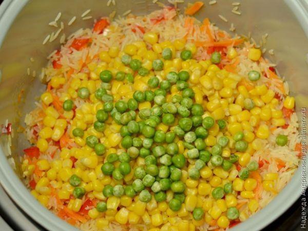 рецепты из бурого риса в мультиварке