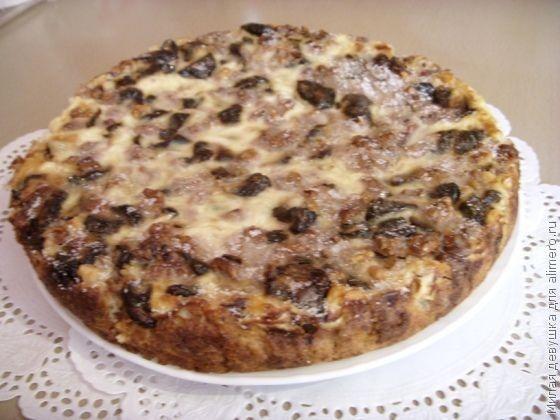 рецепт чернослива с Простой пирога