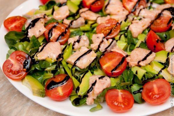 Рецепт легких салатов с фотографиями