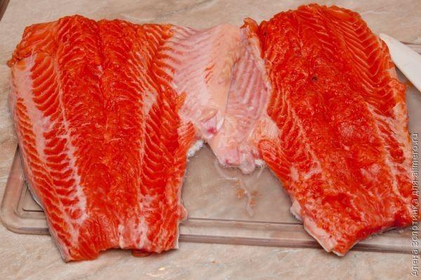 очистим рыбу от костей