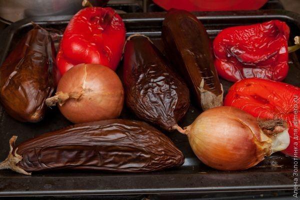 запеченые овощи