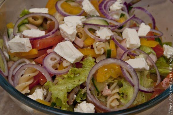 итальянский салат готов