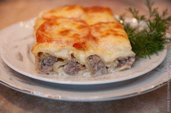 Каннеллони - вкусный рецепт с пошаговым фото 42