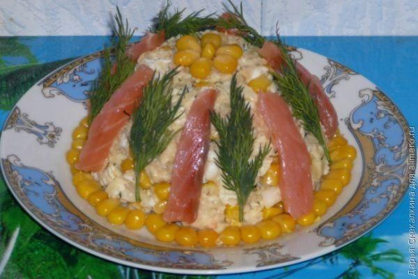 Салаты с сухариками на скорую руку рецепты фото