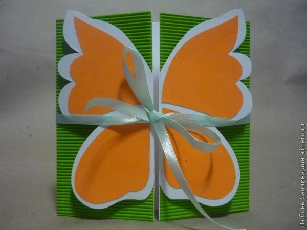Открытки с бабочками своими руками мастер класс 26