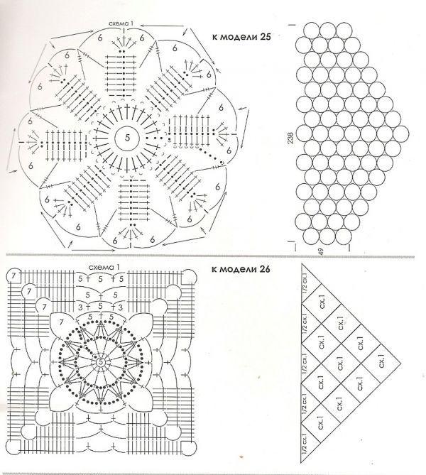 Данные шали вяжутся отдельными мотивами по схемам, а потом аккуратно сшиваются согласно рисунку. Я всегда боюсь, что связав отдельные фрагменты, потом не стану их соединять.