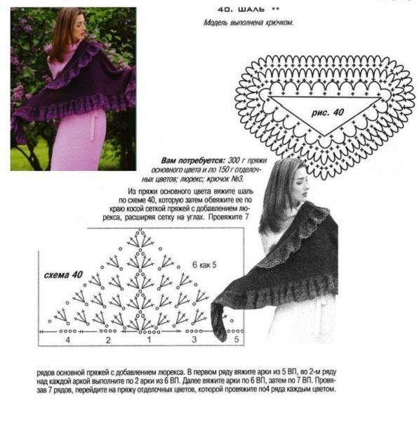 Для вязания можно выбрать меланжевые нитки, тогда получится оригинальная модель со своеобразным рисунком.