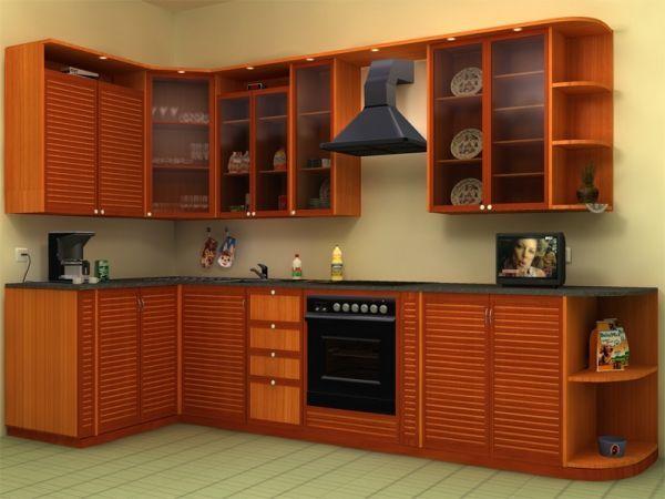 Пока мы думаем над подобным вариантом. Хотим угловую кухонную мебель и, возможно, в таком цветовом решении.